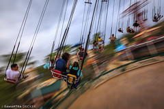 Riding the Silly Symphony Swings (Samantha Decker) Tags: anaheim ca california canonef1635mmf28liiusm canoneos6d disneyscaliforniaadventure disneyland samanthadecker socal uwa socal16 themepark wideangle