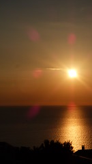 blouissement du matin, quand le soleil se dgage de la brume (Claudie K) Tags: aurore sunrise cerbre ctevermeille pyrnesorientales languedocroussillon occitanie