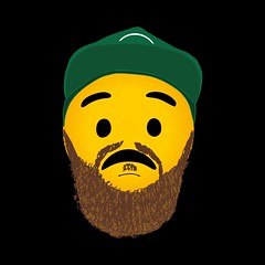 Jack Garratt - Worry (Stan Brooks Designs) Tags: jackgarratt jack garratt worry singleartwork singlecover artwork single cover phase design graphicdesign graphics graphicdesigner illustrator illustration vector emoji hat beard black