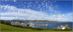 """52 in 2016 Week #35 """"Landscape/View"""" Douglas Head Stitched Panorama (Affinity Photo) (bokosphotos) Tags: 52in2016 52in2016week35landscape landscape week35 iom isleofman panasonic panasonicgh3 1235f28lens douglas douglashead manannan iomferrymanannan arrow onchan panorama stitchedpanorama"""