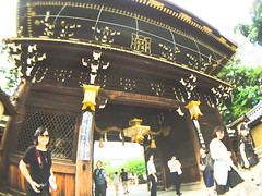 IMG_9466 (Shane6352435) Tags: fisheye iphone6  kyoto  japan  kitanotenmangu