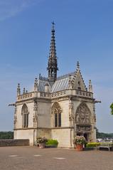 Saint Hubert chapel at Royal Chateau at Amboise (chrisdingsdale) Tags: sainthubert chapel royal chateauatamboise saint hubert chateau amboise castle where leonardodavinci buried leonardo da vinci france loire french st europe