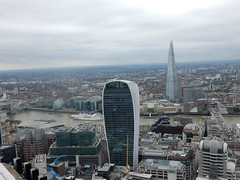 View from the roof of Tower 42 (John Steedman) Tags: london uk unitedkingdom england   greatbritain grandebretagne grossbritannien