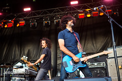Explosions In The Sky at Fort York, Toronto ON, 2016 09 16 (exclaimdotca) Tags: shaneparent shaneparentphotocom livemusic concertphotography concert festival musicfestival 2016 toronto turf torontourbanrootsfestival fortyork explosionsinthesky