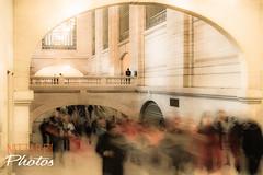 The Observer (Massimo Nittardi) Tags: grandcentralterminal newyorkcity slowshutterspeed