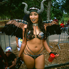 West Indian Day Parade 2016 (slightheadache) Tags: 2016 6x6 brooklyn caribbean film filmcamera laborday labordayparade mamiya mamiya6mf mamiya6 mediumformat nyc newyorkcity parade party westindian westindiandayparade westindianparade beauty
