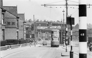 Bootle branch/Walton Lane, Liverpool UK 1954