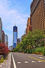 Path to Freedom Tower (keviikev) Tags: nyc newyorkcity manhattan lowermanhattan freedomtower