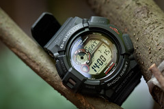 Mudman G-9300 (mekelbagus) Tags: macro water bar solar outdoor watch twin thermo casio shock wristwatch 20 jam protection tough compass resist sensor gshock mudman thermomometer tangan