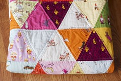triangles! (a quilt is nice) Tags: triangles quilt westhill munki heatherross lightningbugsandothermysteries