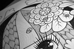 WIP (Anita Mejia) Tags: art illustration pen ink drawing traditional editorial ilustracion revistatu chocolatita anitamejia tumagazine mexicanillustrator