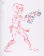 Princess Amidala concept sketch (dillardma) Tags: sketch starwars drawing character cartoon amidala conceptdrawing