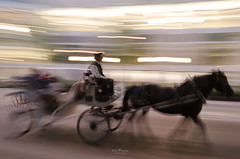 Chicago Carriage (DaisyYeung) Tags: trip travel vacation urban usa chicago motion blur speed photography illinois nikon long exposure carriage time il daisy nikkor panning yeung d7000 daisyyeung daisyeung