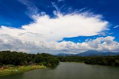 ~~ (Simon YEH ) Tags: blue summer sky cloud seascape art nature water canon landscape interestingness magic taipei  mfcc 1635mm    550d earthasia mygearandme ringexcellence blinkagain flickrstruereflection1