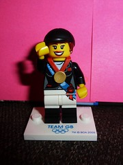 Lego Olympic Equestrian Rider (stavioni) Tags: london gold team lego britain great medal gb minifigs olympics 2012 minifigures