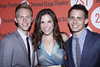 Justin Paul, Lindsay Mendez and Benj Pasek After party celebrating the New York premiere of 'Dogfight', held at HB Burger New York City, USA � 16.07.12 Mandatory Credit: Joseph Marzullo/WENN.com