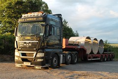 Dyce Carriers LTD MAN SV61 AAO KARIBA (Kilmachalmag) Tags: man aberdeen trucks ltd kariba lorries dyce carriers aao sv61