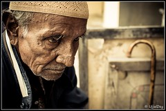 Challenged (ujjal dey) Tags: people walkingstick dreams oldpeople contemplative challenged ujjal nikon35mm nikond90 ujjaldey ujjaldeyin