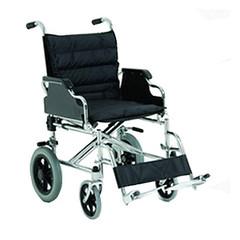 Χειροκίνητο αναπηρικό αμαξίδιο με πλαινά γραφείου και μαξιλάρι