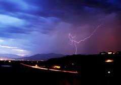 Lightning over Alpine Utah July 22 2012 2 (houstonryan) Tags: sunset storm art print photography 22 utah photographer ryan july houston peak just alpine photograph area lone strike after thunderstorm local lightning chasing 2012 chaser houstonryan