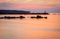 Rocky shoreline (FarFlungTravels) Tags: ohio lakeerie lakeerieliving laurawatiloblake