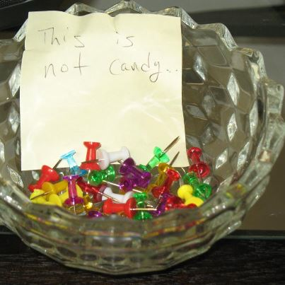 This is not candy.