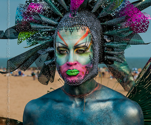 :: Darrell Thorne - Image from the Coney Island Mermaid Parade (2011)