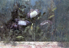 Painted Garden, Villa of Livia, detail with poppies