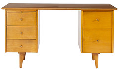 2052. Paul McCobb Kneehole Desk