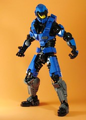 Noble VI (retinence) Tags: factory lego chief halo master technic hero reach fusion bionicle spartan noble