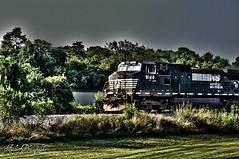 Train (Joe_F1sh) Tags: railroad train virginia nikon roanoke hdr oloneo nikond3100 hdrengine