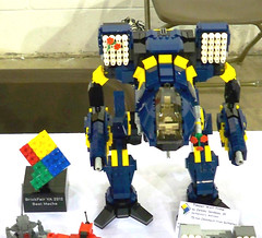 Flower Power (Jeremy Devilbiss) Tags: lego mecha battletech madcat moc timberwolf battlemech brickfair omnimech
