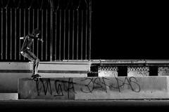 Mike Hook Marques Ashley (MikeHookPhoto) Tags: mike canon la los skateboarding angeles board flash front ledge skateboard hook 580exii mikehookphoto