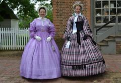 DSC_0030a (Andy961) Tags: portrait people virginia costume women dress civilwar va williamsburg colonialwilliamsburg reenactors