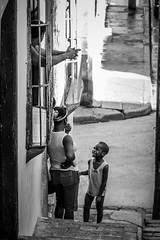 berrinche (FJTUrban (sommelier d mojitos)) Tags: street portrait bw woman white man black blanco calle kid mujer child noiretblanc retrato negro cuba bn nio santiagodecuba hombre fjtu fjturban