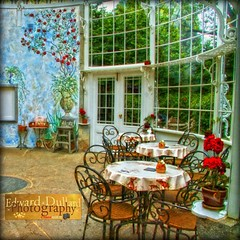 The Tea House. (Edward Dullard Photography. Kilkenny, Ireland.) Tags: flowers kilkenny ireland restaurant ornate photoart teahouse irlanda ierland woodstockgardens colorphotoaward magicunicornverybest rememberthatmomentlevel1 me2youphotographylevel1