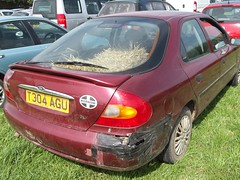 Gaffa tape and Straw (occama) Tags: ford car duct cornwall body tape damage gaffer mondeo gaffa