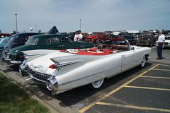 1959 Cadillac de Ville (Crown Star Images) Tags: new london cars car silver brighton antique anniversary nine run era brass nineteen 59 1959 fifty 26th ninety nlnb nlnbacr ninetyfiftynine nineteenfiftynine