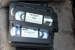 Old School (C_Dubyaa) Tags: chicago video theater tapes chicagoist