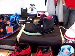 Nike Air Yeezy 2 Black / Solar Red (Sneaker Freak) Tags: pink red solar air nike jordan v limited 2012 bape cavs amesterdam yeezy sneakerness