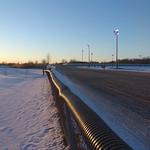271 - Sports Creek Raceway panorama at sunset thumbnail