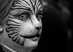 The Art of Being Different (Peter Kurdulija) Tags: new portrait woman art face lady cat nose nikon character makeup zealand wellington d200 facial representation likeness kurdulija