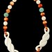 4064. Ivory and Bead Necklace