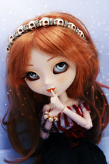 Oxygne (Konato) Tags: blue red anne eyes redhead wig ann shirley pullip custo oxygne dashka as konato