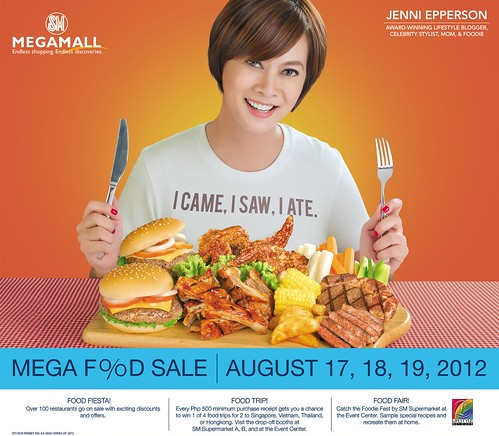 JENNI EPPERSON FOR MEGA FOOD SALE