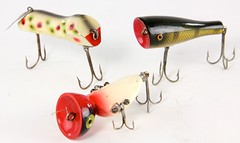 3008. (3) Unusual Wooden Lures