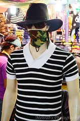 MODEL 1 (Ami VONDo) Tags: boy portrait man hat mall model with dress mask center shoppin mehrab saifuzzaman d5100