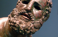 Apollonius, Boxer at Rest, detail with beard