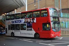 Travel West Midlands Volvo B7TL 4521.BU53UMY - Moor Street, Birmingham (dwb photos) Tags: travel west bus eclipse volvo birmingham wright gemini midlands nationalexpress decker 4512 bu53umy