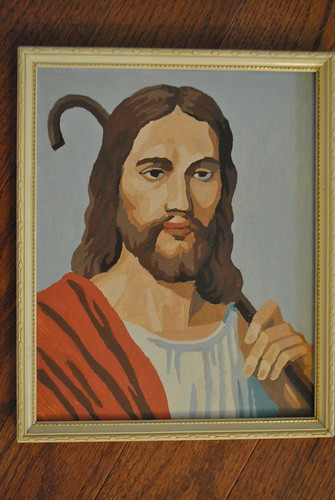 Jesus The Good Shepherd - Paint by Number